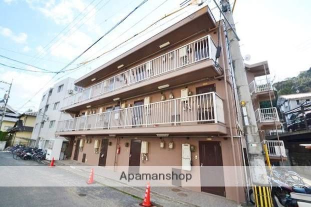 岡山県岡山市北区、岡山駅徒歩28分の築31年 3階建の賃貸マンション