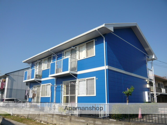 岡山県岡山市北区、庭瀬駅徒歩6分の築21年 2階建の賃貸アパート