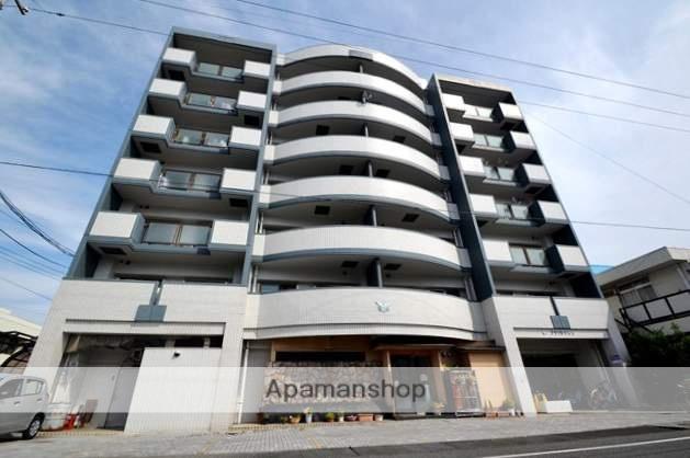 岡山県岡山市北区、岡山駅徒歩24分の築27年 7階建の賃貸マンション