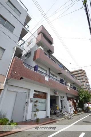 岡山県岡山市北区、岡山駅徒歩13分の築41年 4階建の賃貸マンション