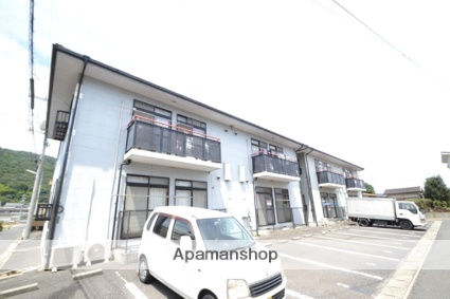 岡山県玉野市、備前田井駅徒歩18分の築20年 2階建の賃貸アパート