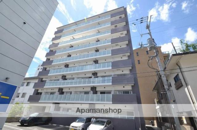 岡山県岡山市北区、岡山駅徒歩12分の築1年 9階建の賃貸マンション