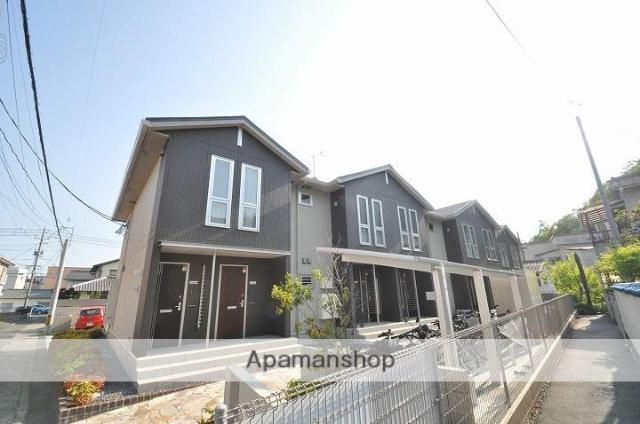 岡山県岡山市北区、岡山駅徒歩18分の新築 2階建の賃貸アパート