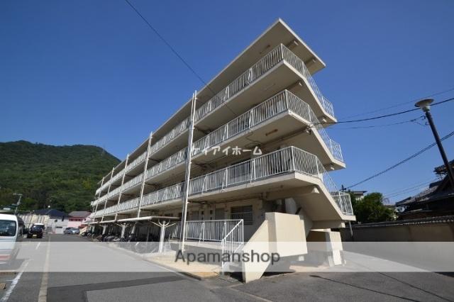 岡山県玉野市、常山駅徒歩20分の築51年 4階建の賃貸マンション