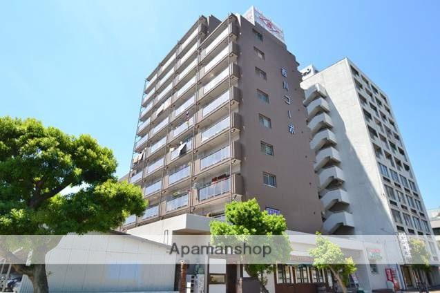 岡山県岡山市北区、西川緑道公園駅徒歩5分の築37年 11階建の賃貸マンション