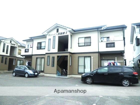 岡山県岡山市南区、迫川駅徒歩20分の築20年 2階建の賃貸アパート