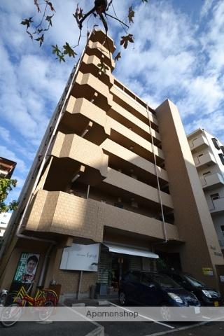 岡山県岡山市北区、柳川駅徒歩10分の築14年 7階建の賃貸マンション