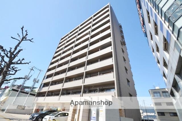 岡山県岡山市北区、岡山駅徒歩19分の築10年 11階建の賃貸マンション