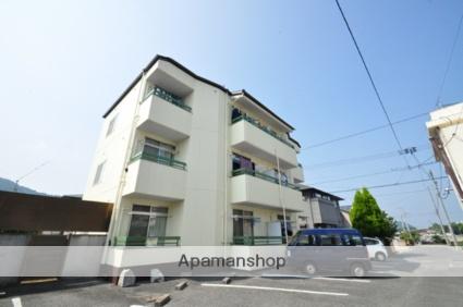 岡山県岡山市北区、備前原駅徒歩15分の築28年 3階建の賃貸アパート