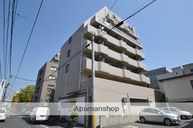 岡山県岡山市北区、柳川駅徒歩8分の築21年 7階建の賃貸マンション