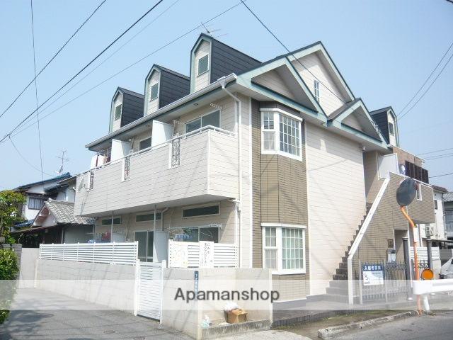 岡山県岡山市北区、岡山駅徒歩17分の築28年 2階建の賃貸アパート