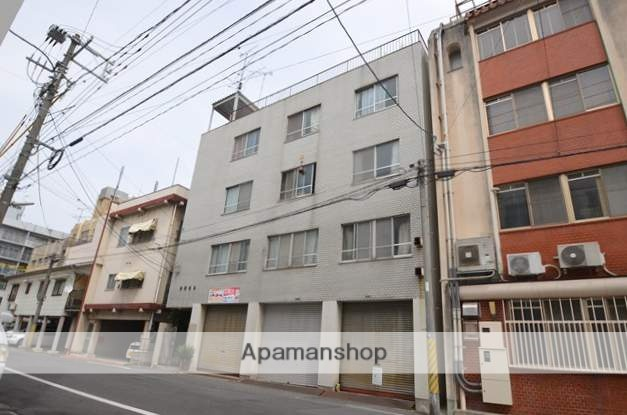 岡山県岡山市北区、岡山駅徒歩8分の築36年 4階建の賃貸マンション