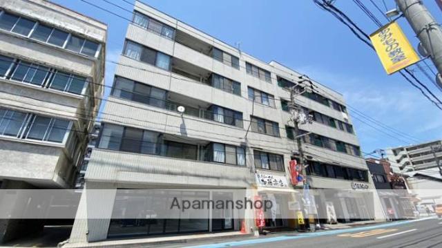 岡山県岡山市北区、岡山駅徒歩10分の築40年 5階建の賃貸マンション