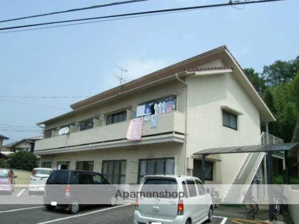 岡山県岡山市中区、東岡山駅徒歩15分の築41年 2階建の賃貸アパート