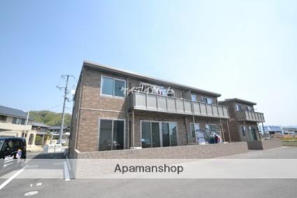 岡山県赤磐市、瀬戸駅徒歩94分の築4年 2階建の賃貸アパート
