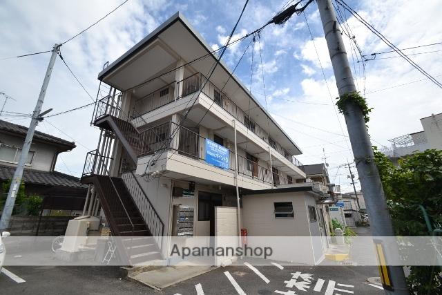 岡山県岡山市北区、岡山駅徒歩19分の築35年 3階建の賃貸マンション