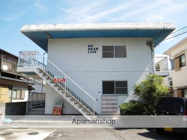 岡山県岡山市中区、西川原駅徒歩13分の築28年 2階建の賃貸アパート