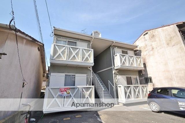岡山県岡山市北区の築27年 2階建の賃貸アパート