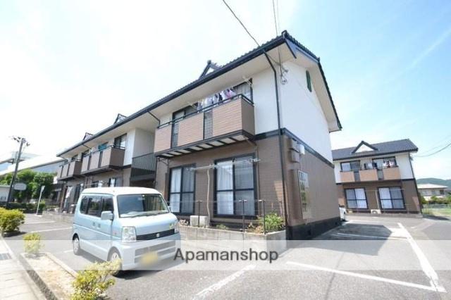 岡山県岡山市中区、高島駅徒歩6分の築22年 2階建の賃貸アパート