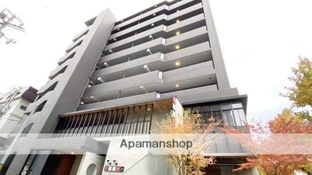 岡山県岡山市北区、岡山駅徒歩15分の築8年 9階建の賃貸マンション