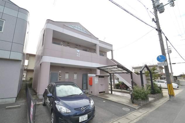 岡山県岡山市中区、東岡山駅徒歩5分の築20年 2階建の賃貸アパート