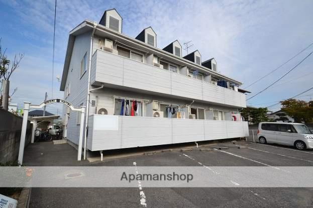 岡山県岡山市中区、東岡山駅徒歩27分の築27年 2階建の賃貸アパート