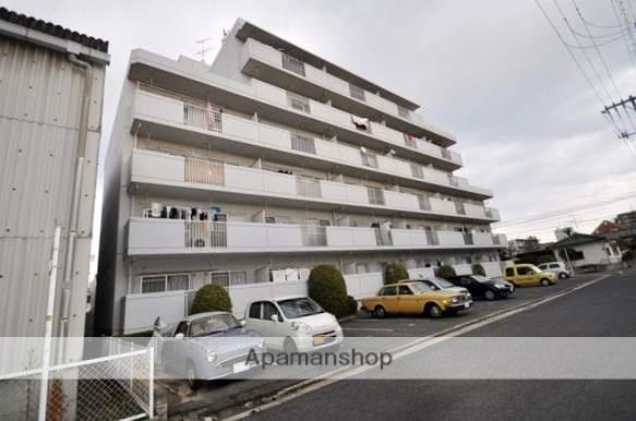 岡山県岡山市北区、岡山駅徒歩34分の築30年 6階建の賃貸マンション