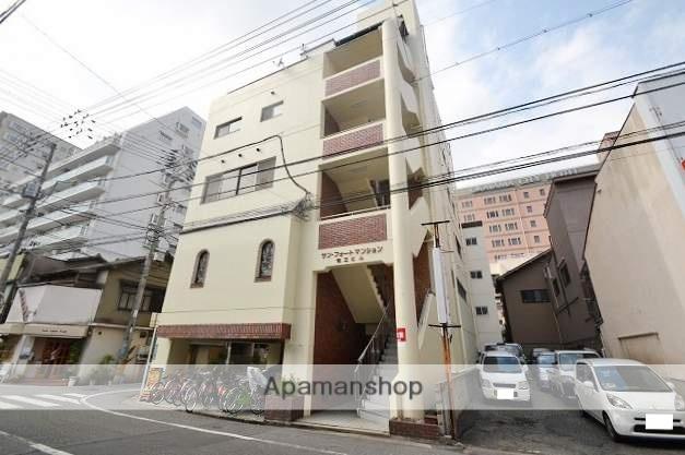 岡山県岡山市北区、岡山駅徒歩10分の築27年 6階建の賃貸マンション