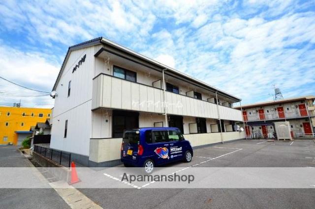 岡山県岡山市南区、大元駅徒歩9分の築10年 2階建の賃貸アパート