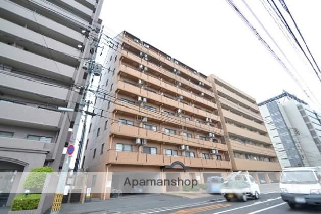 岡山県岡山市北区、岡山駅徒歩28分の築26年 9階建の賃貸マンション