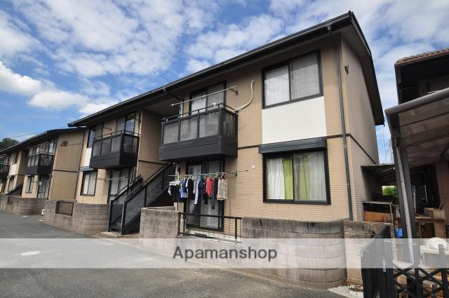 岡山県岡山市北区、法界院駅徒歩15分の築19年 2階建の賃貸アパート