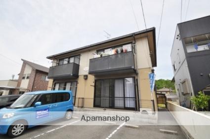 岡山県赤磐市、万富駅徒歩86分の築18年 2階建の賃貸アパート