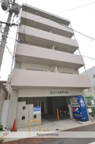 岡山県岡山市北区、岡山駅徒歩20分の築22年 5階建の賃貸マンション