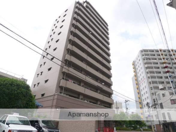 岡山県岡山市北区、岡山駅徒歩20分の築20年 14階建の賃貸マンション