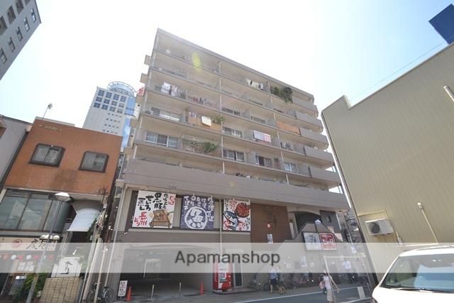 岡山県岡山市北区、岡山駅徒歩12分の築38年 8階建の賃貸マンション