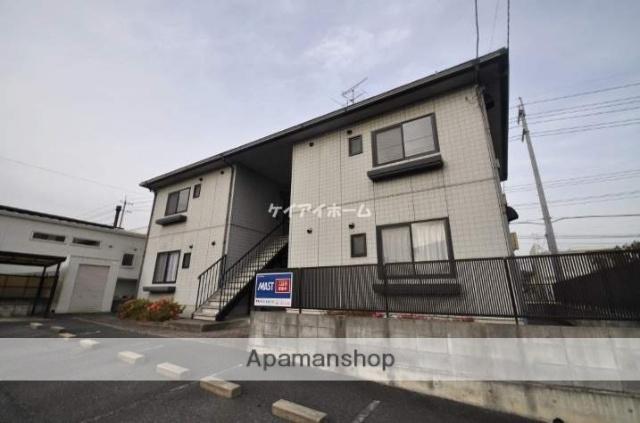 岡山県赤磐市、万富駅徒歩83分の築20年 2階建の賃貸アパート