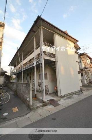 岡山県岡山市中区、高島駅徒歩8分の築49年 2階建の賃貸アパート