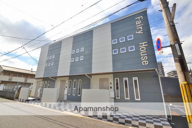 岡山県岡山市北区、大元駅徒歩9分の新築 2階建の賃貸テラスハウス