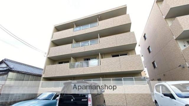 岡山県岡山市北区、岡山駅徒歩34分の新築 4階建の賃貸マンション