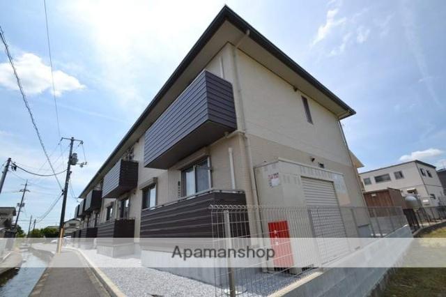 岡山県岡山市中区、高島駅徒歩14分の新築 2階建の賃貸アパート