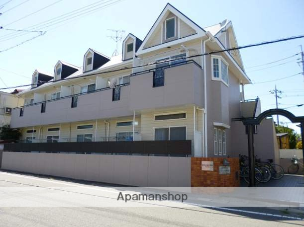 岡山県岡山市中区、高島駅徒歩25分の築27年 2階建の賃貸アパート