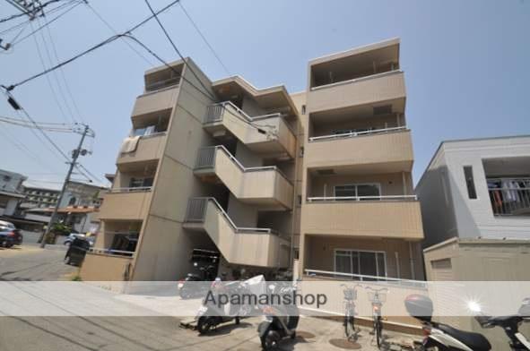 岡山県岡山市北区、岡山駅徒歩29分の築27年 4階建の賃貸マンション