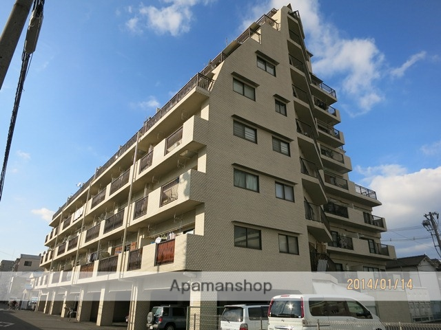 岡山県岡山市北区、岡山駅徒歩12分の築32年 10階建の賃貸マンション