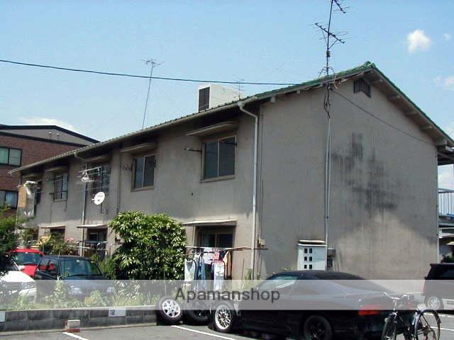 岡山県岡山市中区、高島駅徒歩5分の築43年 2階建の賃貸アパート