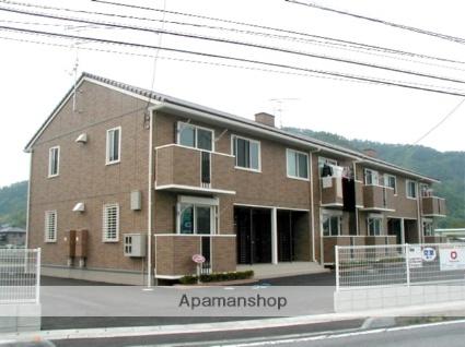 岡山県赤磐市、熊山駅徒歩21分の築11年 2階建の賃貸アパート