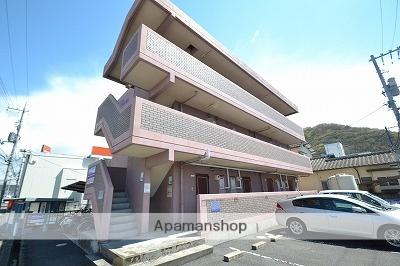 岡山県岡山市北区、備前三門駅徒歩40分の築17年 3階建の賃貸マンション