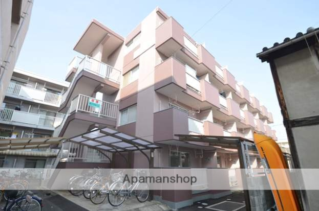 岡山県岡山市中区、岡山駅徒歩28分の築28年 4階建の賃貸マンション