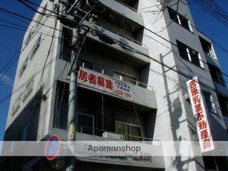 岡山県岡山市北区、西川緑道公園駅徒歩6分の築29年 5階建の賃貸マンション