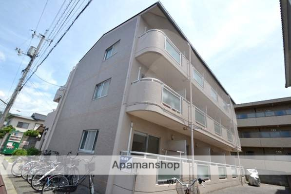 岡山県岡山市北区、西川原駅徒歩30分の築25年 3階建の賃貸マンション