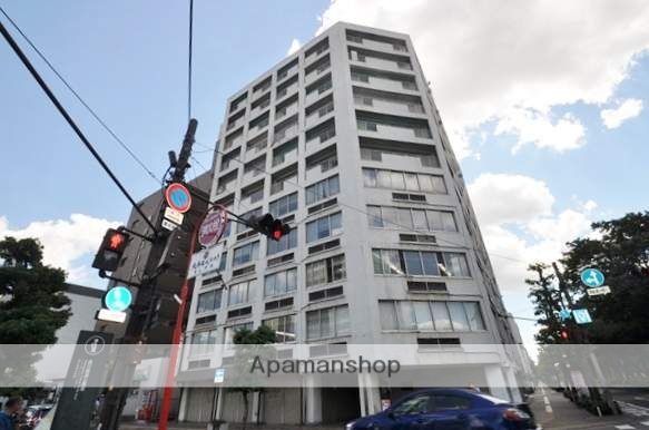 岡山県岡山市北区、西川緑道公園駅徒歩5分の築43年 12階建の賃貸マンション